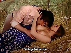 Erotic Sex Right in the Barn