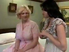 Antique lingerie lesbian lovers