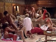 Yam-sized Vintage Group Sex