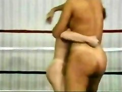 Retro Bare Wrestling