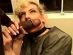 Mature Ash-blonde Creamed In Her Taut Butt