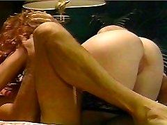 Sexy Redhead rides him like a horse