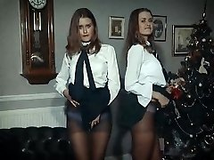 XMAS Fun - twin beauties strip & tease