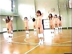 Nude Japanese  Gymnasium (Retro)