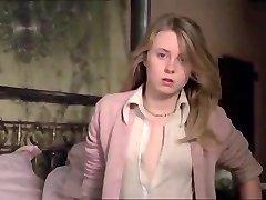 Vintage Meisje met Eenhoorn