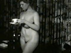 Succulent Smokin MILF from 1950's