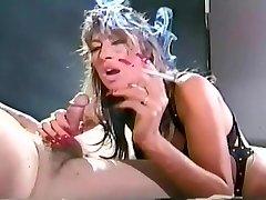 Oude School binnenkort vintage rook fetish video