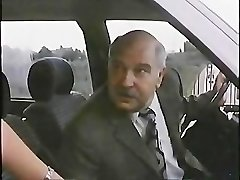 Old Man With Prostitute In Car 1