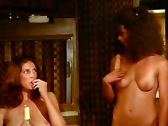 Retro party foursome with Kay Parker