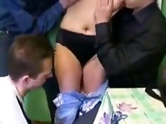 Wild Japanese girl in Horny Russian, Slave JAV flick