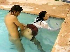 vintage bazén