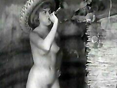 På 1940-tallet nudister