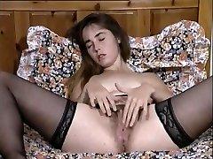 Gekke Vintage, Masturbatie volwassen clip