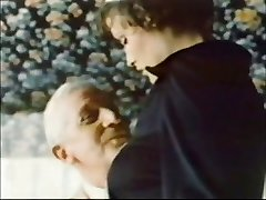 Elder Stud Jean Villroy gets a Blow Job From Maid...Wear-Tweed