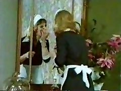 Old School Antique Retro - Tiny Tove Clip - Maid Orgy
