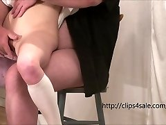 The young slut gets fingered and pummeled by an old man