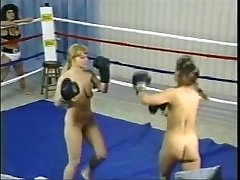 Vintage Bare-breasted Boxing Fight