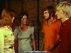 Rampzalige Voorronde voor Fucking Hete Tiener Meisjes (Vintage)