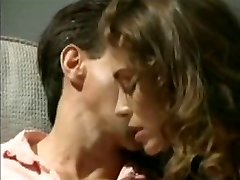 Chasey Lain fucks Peter North old school porno