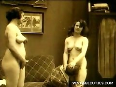 Antique 1920s Real Group Orgy Old+Young (1920s Retro)