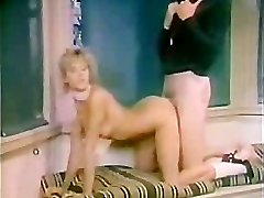 Retro chick Romped by Gym Coach