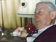 Old Fellow In Suit... Jean villroy gets A Gargle Job...Wear-Tweed