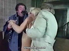 Whorey Blonde Humiliated Really Tough (1970s Antique)