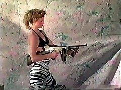 Ladies Shooting Machineguns 2
