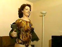 Hottest homemade Vintage, Stockings porno clip