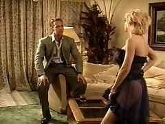 Hot blonde pussy fucked antique fashion by Rocco