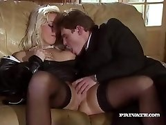 Silvia Saint Humps the Lawyer and Drains His Jizz