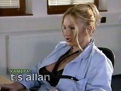 Amazing amateur Girl/girl, Stockings porn video
