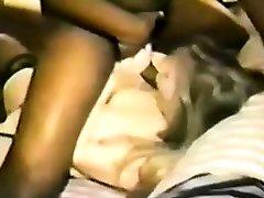 Ample black interracial cock gives facial