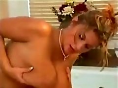 Blonde Milf With Ginormous Natural Boobs