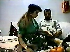 Antique arab amateur couple make hard homemad