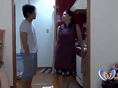 Asian Housewife cant do her homework vintagepornbay.com