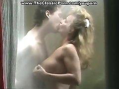 Erica Boyer drilling in shower
