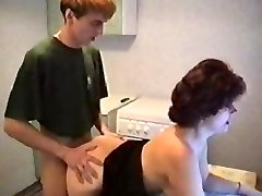 mom Lingerie get banged by son