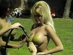 Awesome pornstars Isis Nile, Paula Price and Danyel Cheeks in hottest fetish, antique adult gig