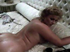 Vintage Brit Stevie Taylor Gets Her Butt Hole Widened