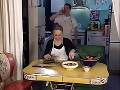 junior man banging two senior ladies in the ass