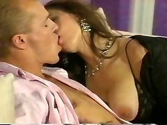 Romantic couple porking hard at home