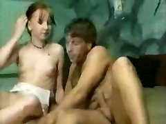 Alde. Youthfull uninhibited Pigtails teenager girl really enjoy sexual sensations