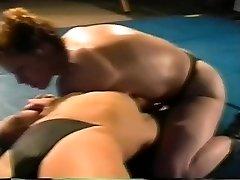 Rock-hard-core lesbian Sex Fight on Academy Wrestling