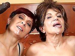 Grannies Hardcore Fucked Interracial Porn with Old Women lovin' Black Cocks