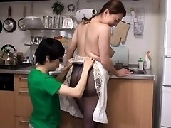Japanese Huge-titted Mother Come to My House