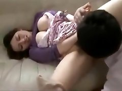 Japanese cheating big tits fucked hard