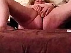 Wife sucking and fucking her cock hitachi