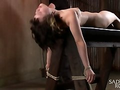 Yhivi in Very First Shoot Ever-19 Year Old Learning Bondage The Hard Way - SadisticRope