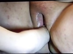 Buster Chuff fists Huge-boobed Miss 87